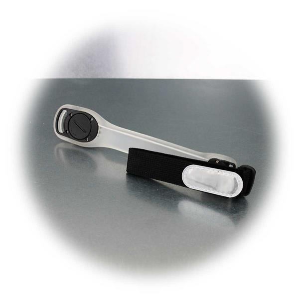 Sicherheitslicht mit Blinkfunktion und Reflektor