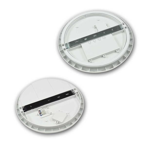 Flache LED-Deckenleuchte mit 16 oder 22W