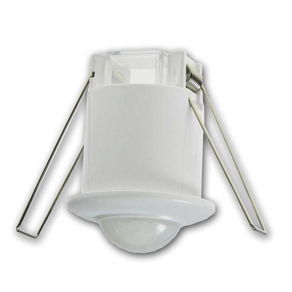 Decken Einbau Bewegungsmelder 360° MICRO LED geeig