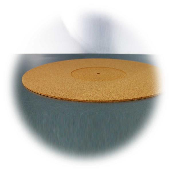 Antistatik-Korkmatte für Vinylplatten-Drehteller