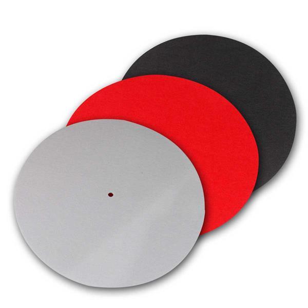 Plattentellerauflage PM2 Filz antistatisch, 3 Farb