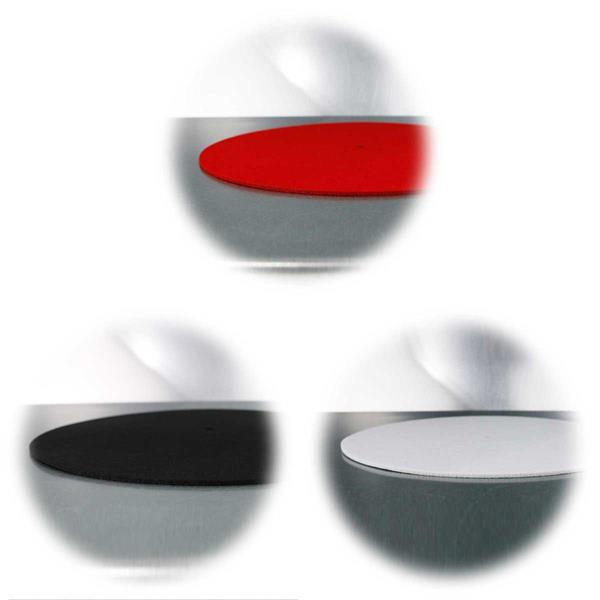 Antistatik-Filzauflage für Plattenspieler, in 3 Farben