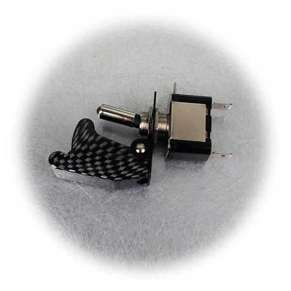 2-poliger Not-Aus-Schalter mit beleuchtetem Schalthebel