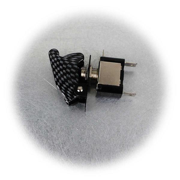 Beleuchteter Not-Aus-Schalter für 12V-Stromquellen