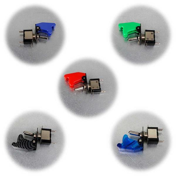Not-Aus-Schalter in 5 Farben für 12V-Stromquellen