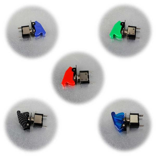 5 Ausführungen Kill-Switch-Schalter mit Schlagkappe