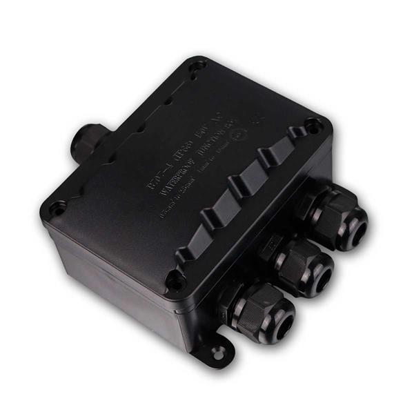 Kabelverbinder-Box, wasserdicht IP66, für 4 Kabel