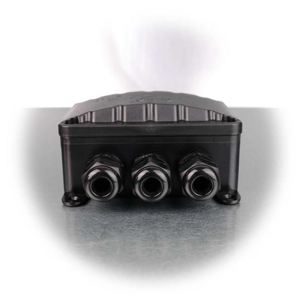 Kabelverbinder-Box für bis zu 4 Kabel mit 1 Ein- und 3 Ausgängen