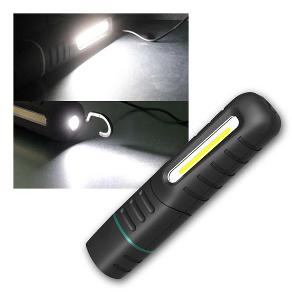 LED Stableuchte FLEXI LED 900 mit LiIon Akku, 800lm