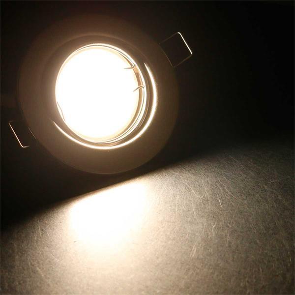 3er Set tageslichtweiße LED Einbauleuchten RSS5NW
