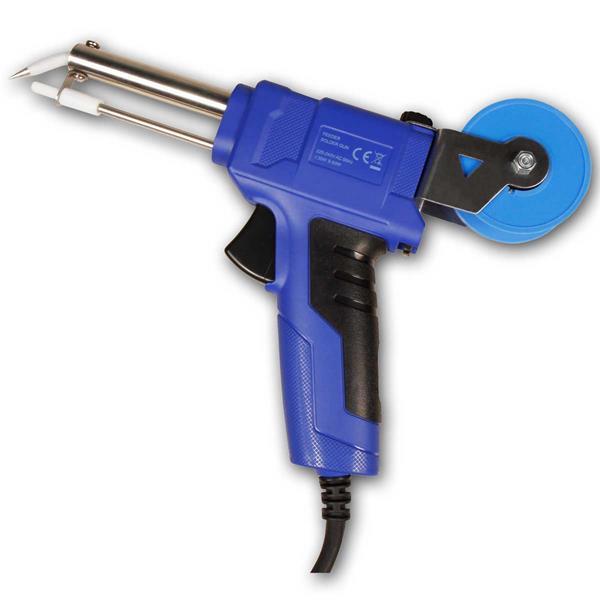 Lötpistole mit einstellbarer Leistung 30/60W, mit Zinnzufuhr/Vorschub