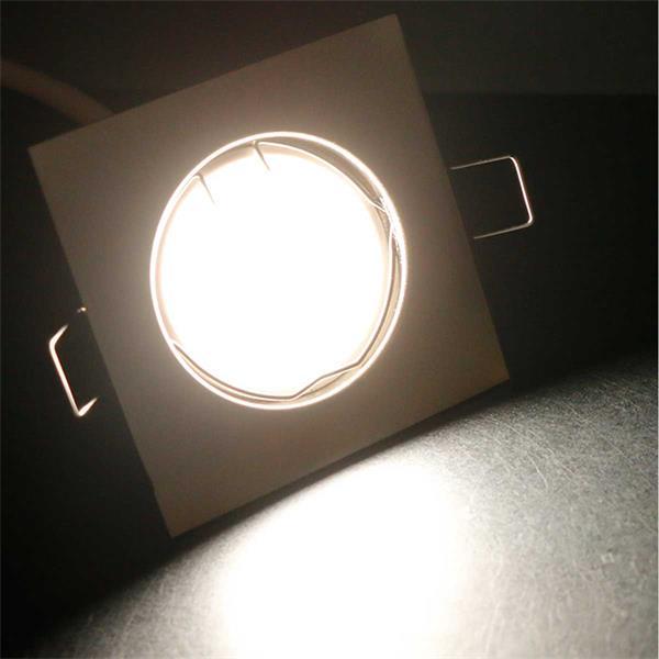 10er Set tageslichtweiße LED Einbauleuchten EFW3NW