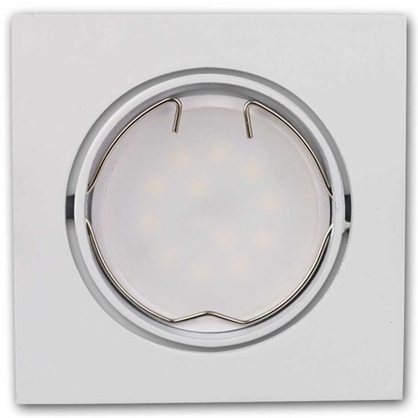 3er Set 3W LED Einbaustrahler anschlussfertig für 230V