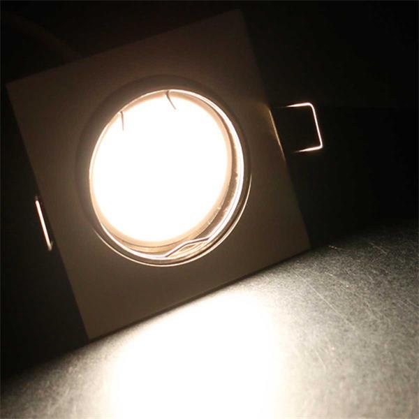 10er Set tageslichtweiße LED Einbauleuchten ESW3NW