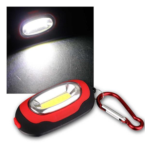 LED Karabiner-Leuchte LET-63 60lm, Taschenlampe
