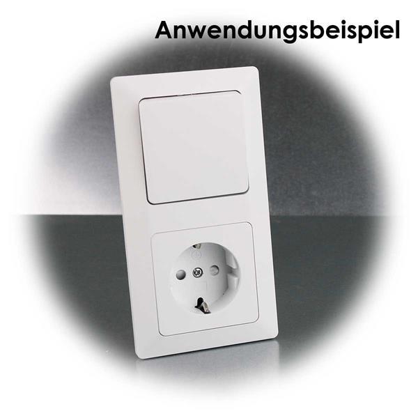 Vielsseitig einsetzbares Schalter- und Steckdosen-Set MILOS