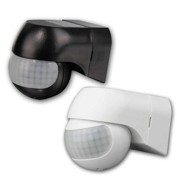 Bewegungsmelder 180° CBM-Slim 1-800W ws/sw, LED