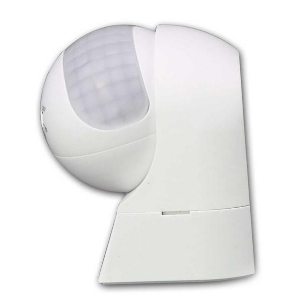 LED-geeigneter Bewegungsmelder in 2 Gehäusefarben