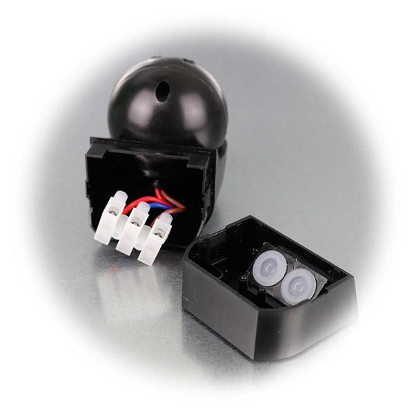 LED-Bewegungsmelder 1-800W mit 180° Erfassungswinkel