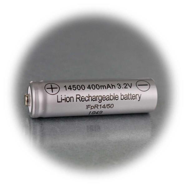 Li-Ionen Akku als Ersatzbatterie für Solarartikel 3,2V