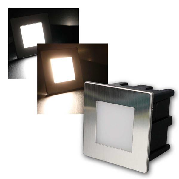 LED-Einbauleuchte CuadradoECO 230V IP65 Edelstahl