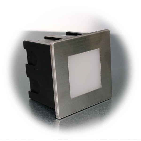 Spritzwassergeschützte LED-Einbauleuchte in 2 Typen