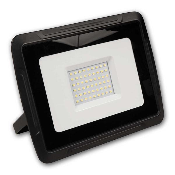 LED Außenstrahler, robustes Aluminiumgehäuse, Schutzklasse IP44