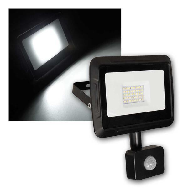 LED Fluter Super-Slim 30W IP44 Bewegungsmelder