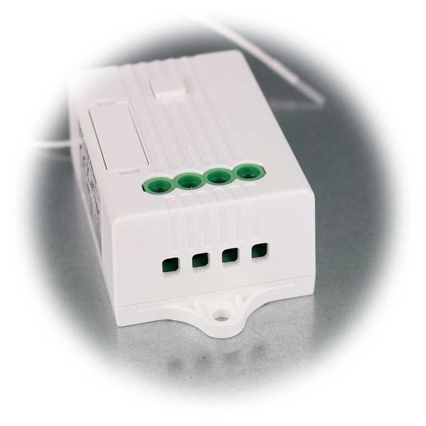 Funk-Empfänger für Spannung von 85 bis 260V geeignet
