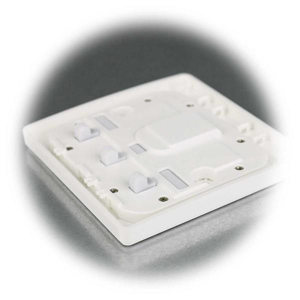 batterieloser Funkschalter mit zwei Wippen, max. 20 Schalter in einer Gruppe