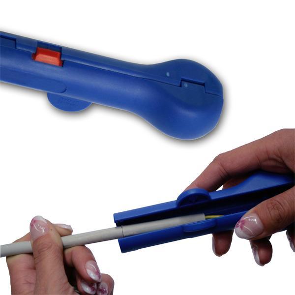 Profiwerkzeug zum Abmanteln gängiger Rundkabel von 8-13mm Durchmesser