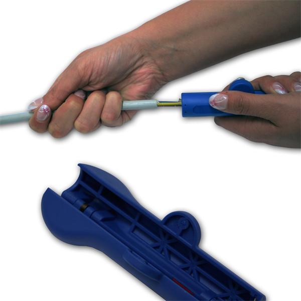 Abmantler für sicheres Arbeiten durch ergonomische Grifform
