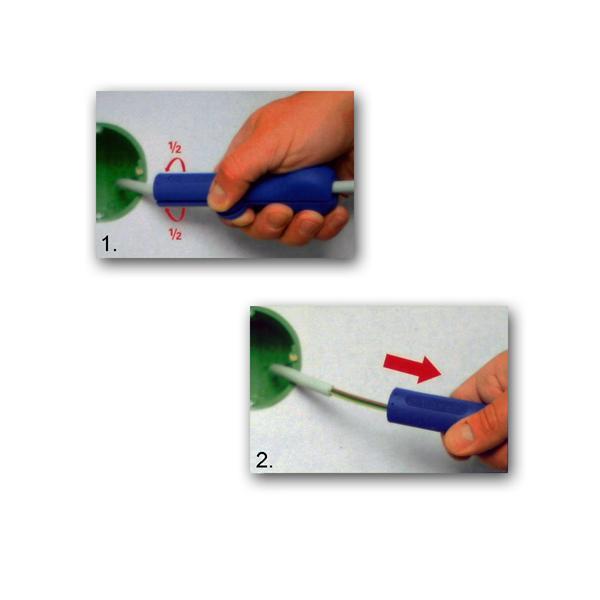 Entmantler für Kabel in Verteilerdosen oder Schaltschränken