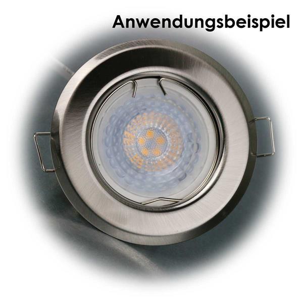 Leuchteinsatz mit 5W COB-LEDs zum direkten Anschluss an 230V
