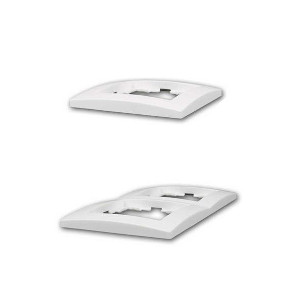 Serie des Schalterprogramms FLAIR zur UP-Installation in trockenen Räumen