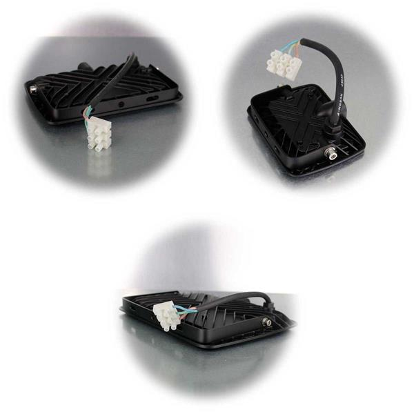 Spritzwassergeschützter LED-Fluter in 6 Ausführungen