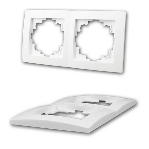 kompatibel mit allen Einzel- und Mehrfachrahmen aus der Serie FLAIR