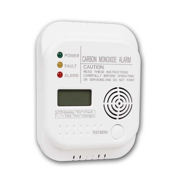 Co- Melder, keine externe Stromversorgung, Warnton bei geringen Batteriestand