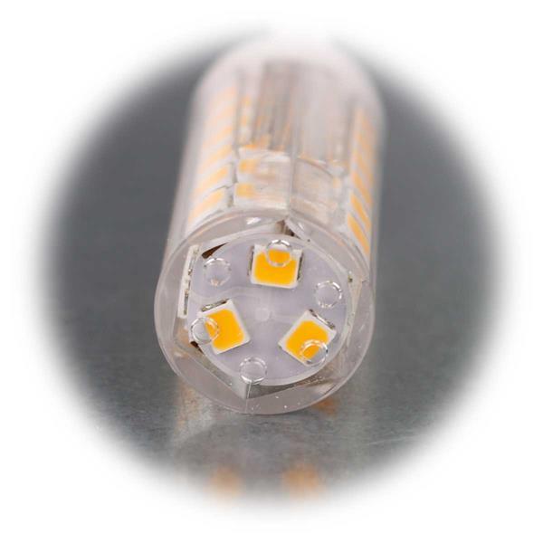 LED Leuchtmittel mit G9 Stiftsockel  und breitem Abstrahlwinkel
