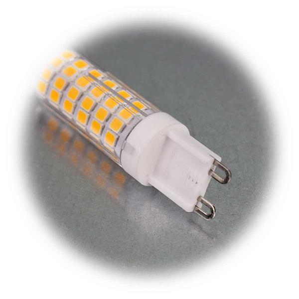 LED-Birne mit G9-Stiftsockel und 270° Abstrahlwinkel