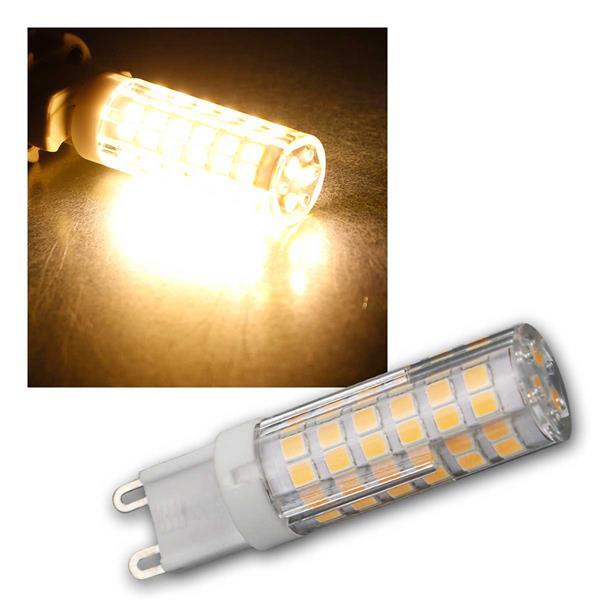 G9 LED-Stiftsockellampe 5W, warmweiß 520lm, 270°
