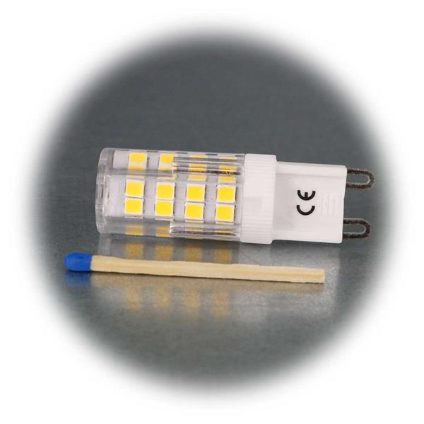 Stiftsockel G9, 4000K, Ø16x50mm, 230 Volt / 3,5 Watt
