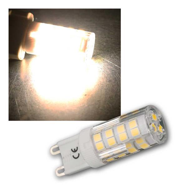 G9 LED-Stiftsockellampe 3,5W neutrweiß 300lm, 270°