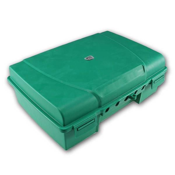Wetterfeste Garten-Kabelbox, IP55 verschließbar