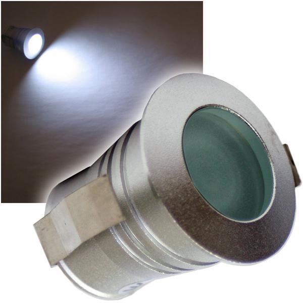 LED-Einbaustrahler 3W CREE pur-weiß Tropfen