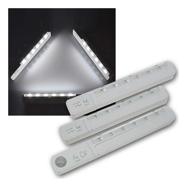 LED Unterbauleuchten MASTER-SLAVE RF PIR