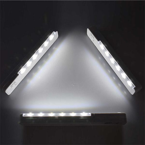 Kaltweiß-leuchtende Unterbaulampen mit Funksteuerung