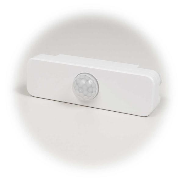 LED-geeigneter Bewegungsmelder für Feuchträume mit 1W Mindestlast