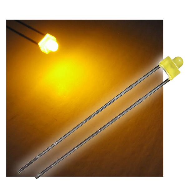 "10 LED 1,8mm diffus gelb Typ ""WTN-18-8"""