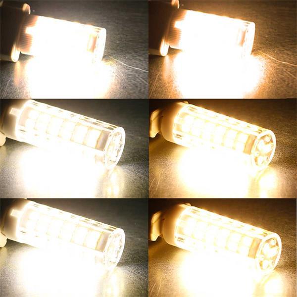 G9 LED-Lampe in 2 Lichtfarebn und 3 Wattagen